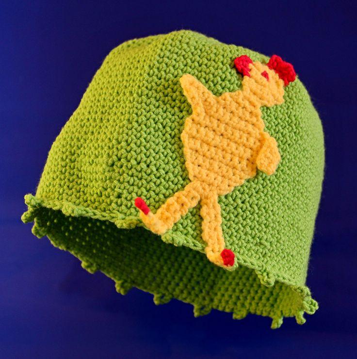 Zelená s kuřetem