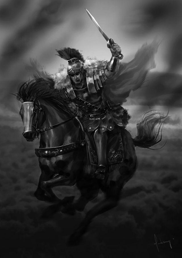 roman warriors | Roman Picture (2d, fantasy, roman, warrior, horse)