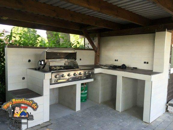 73 besten aussenk che bilder auf pinterest grillplatz kochen im freien und outdoor k che. Black Bedroom Furniture Sets. Home Design Ideas