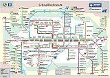 Trams, buses, S-Bahn maps