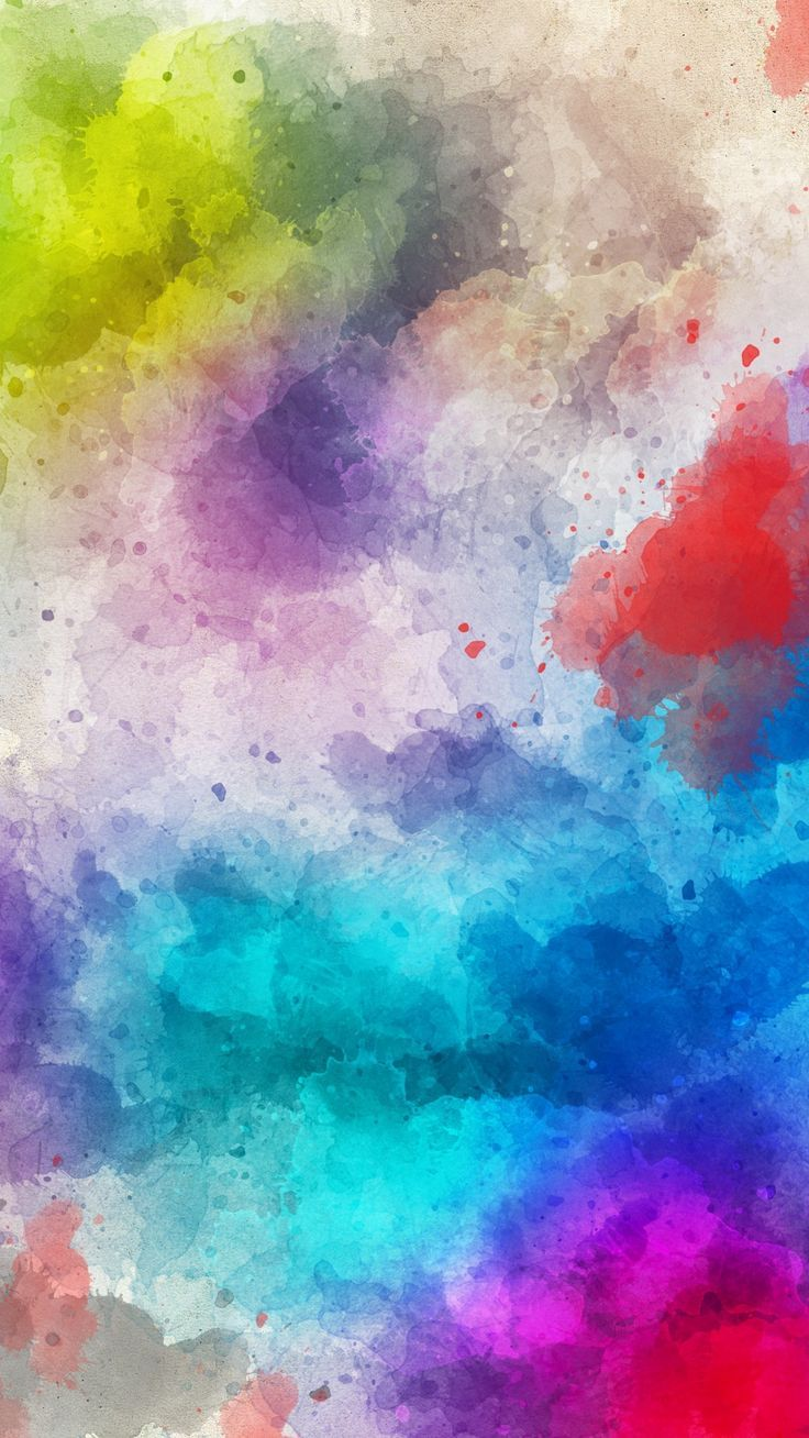 Colorful Abstract Art Image By Anne On Color Rainbow Art