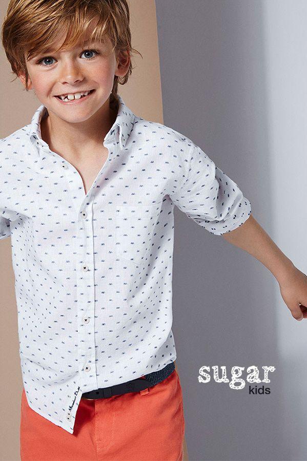 "Martí from Sugar Kids for Massimo Dutti Boys&Girls ""Pure Linen"""