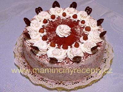 Šlehačkovo-čokoládový
