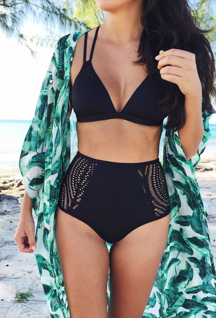 2016 swim trend: high-waisted bikinis