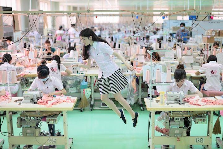 Natsumi Hayashi's New Levitating Photos Get Blown Up