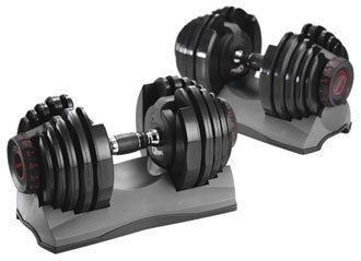 SelectTech Dumbbell Product Review - Adding the right dumbbell set to your home gym such as SelecTech dumbbells