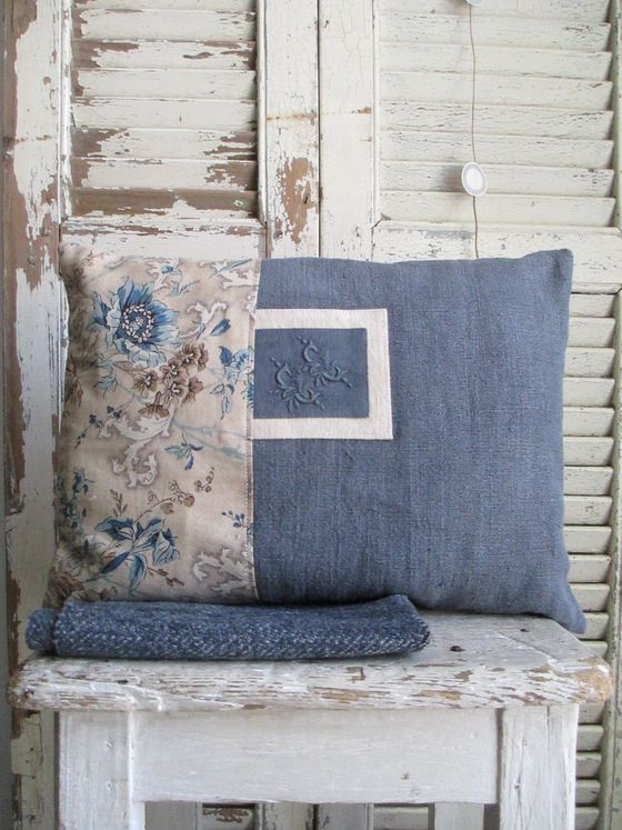 Image Of Coussin C3040 Chintz Linen Cushions Pinterest