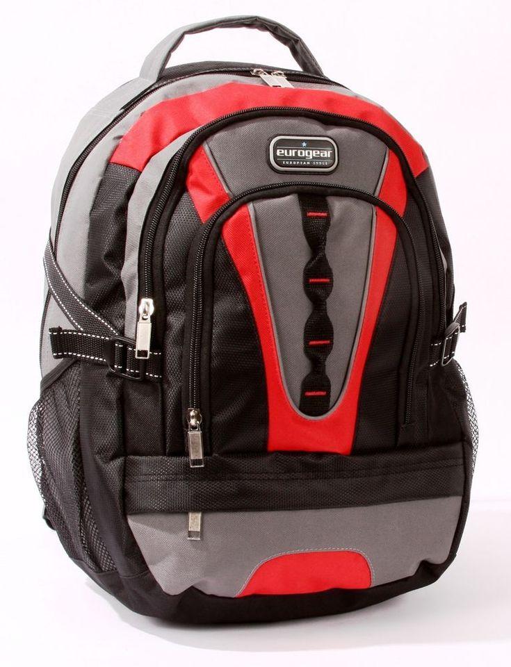 Deluxe Backpack Sports bag School bag Camping Bag #EuroGear