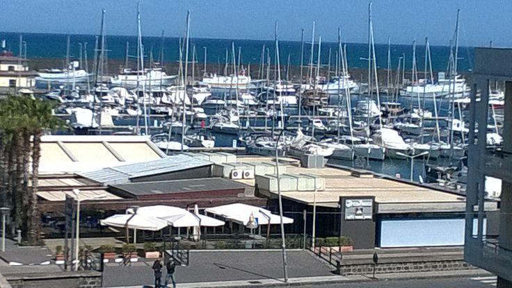 Porto dell'Etna Riposto (CT) vista dal terrazzo