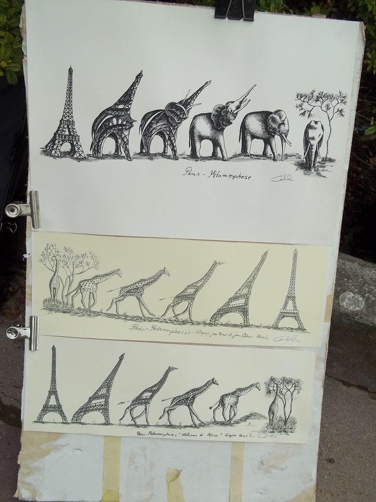 Transition drawing