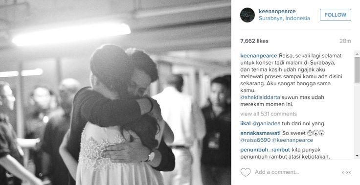 So Sweet, Ini Ungkapan Romantis Keenan Pearce untuk Raisa | MerahPutih.com
