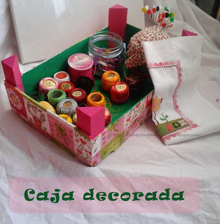 ♥ Un Poquito de Todo:Caja decorada