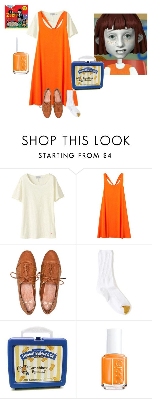 """Shooby-dooby-do-wa-wa my name is...."" by kate-oh ❤ liked on Polyvore featuring Anaconda, Uniqlo, Monki, Gold Toe, CO, celebrity style, cereal, lunch, angela anaconda and cartoon"