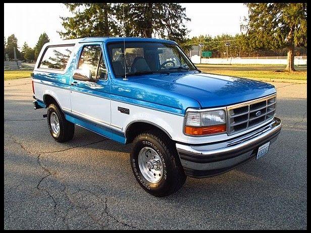 1995 Ford Bronco XLT | Mecum Auctions
