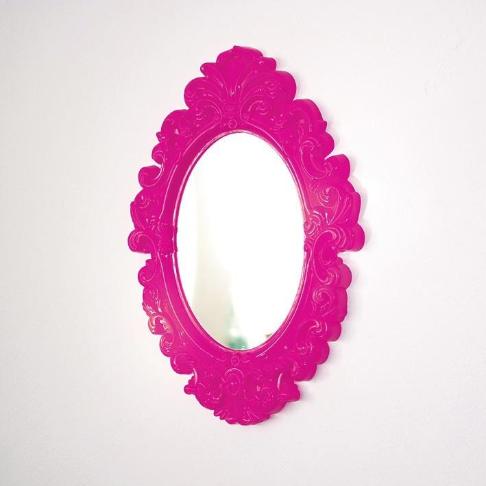 espelho: Rosa Follow, Color, Espelho Rococó, Rococo, Rococó Kitsch, Kitsch Rosa, Mirror Color Pink
