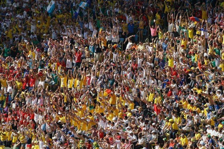 Copa 2014 alcança segunda maior média de público - Futebol - R7 Copa do Mundo 2014