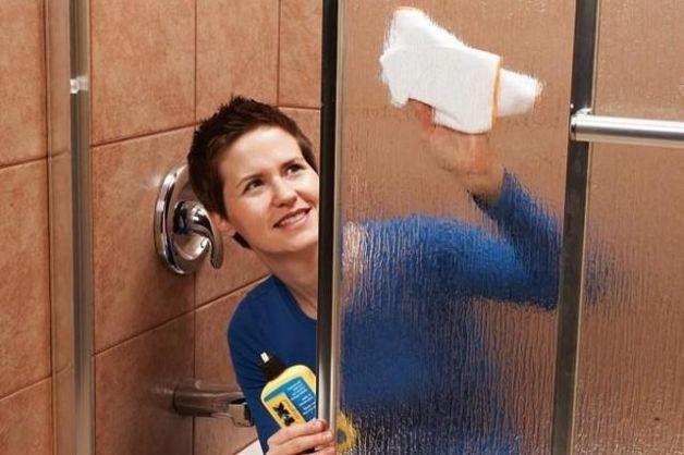 Pulire il box doccia   <3