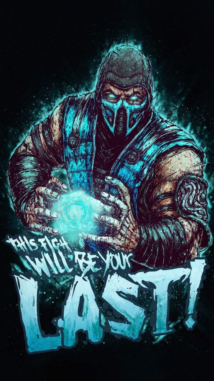 Mortal Kombat Fight iPhone Wallpaper Mortal kombat