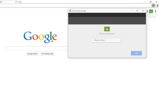 Add to Google Classroom - A Chrome extension for sharing sites with Google Classroom - https://chrome.google.com/webstore/detail/add-to-google-classroom/oaobmlmjmhedmlphfdmdjpppjmcljnkp