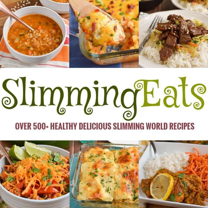 over 500+ delicious healthy Slimming World Recipes