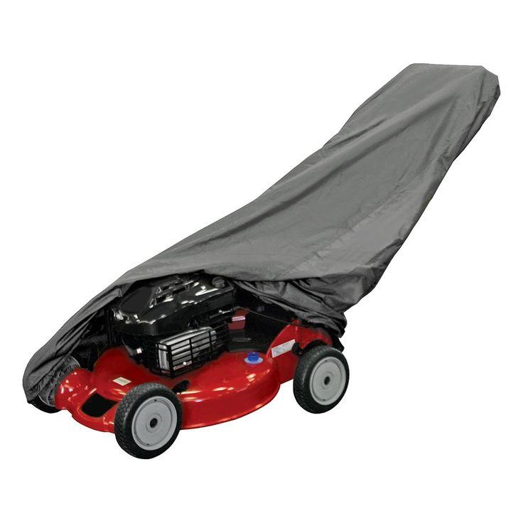Dallas Manufacturing Co. Push Lawn Mower Cover - Black - LMCB1000S, Patio Furniture