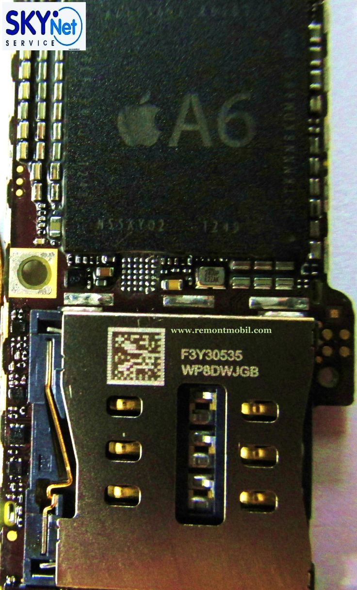 not charging iPhone 5 - http://www.remontmobil.com