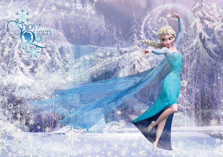 Disney Frozen Elsa Fotobehang 1633P8