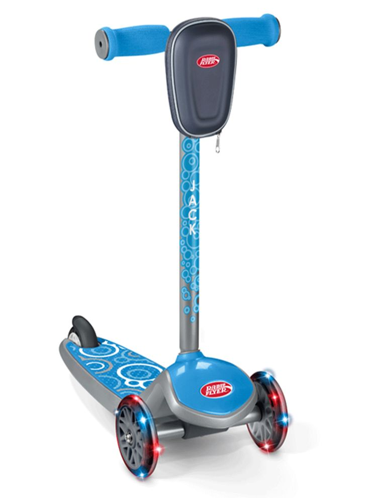 The latest Customize option from @RadioFlyer - Build-A-Scooter! So much fun.