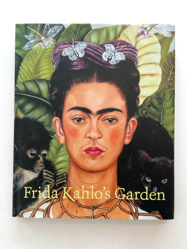Frida Kahol's Garden // A stunning look into Frida Kahol's home and art