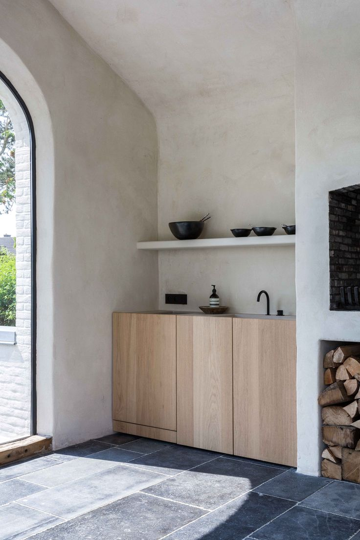modern house interiors%0A Rusticcontemporary kitchen love these textures and finishes
