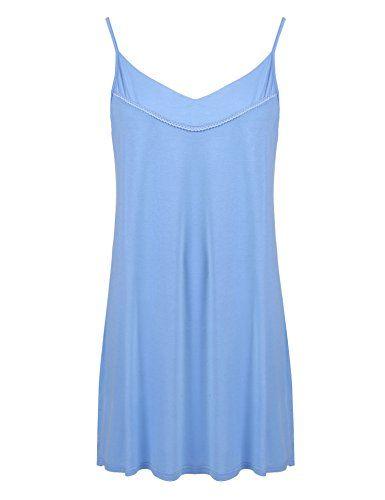 e44cdf08126 IN VOLAND Plus Size Full Slips Under Dresses Women Nightgown Chemise Simple  Sleepwear