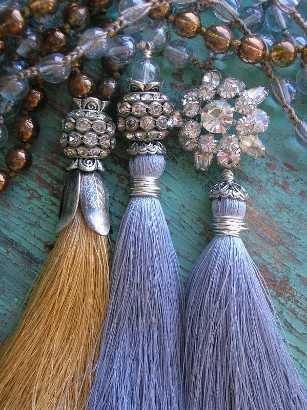 ❥ boho chic tassel necklaces