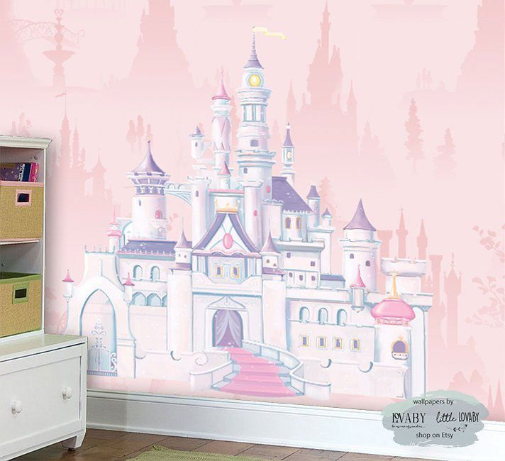 Disney Castle Wall Mural Princess Castle Mural Children Book And