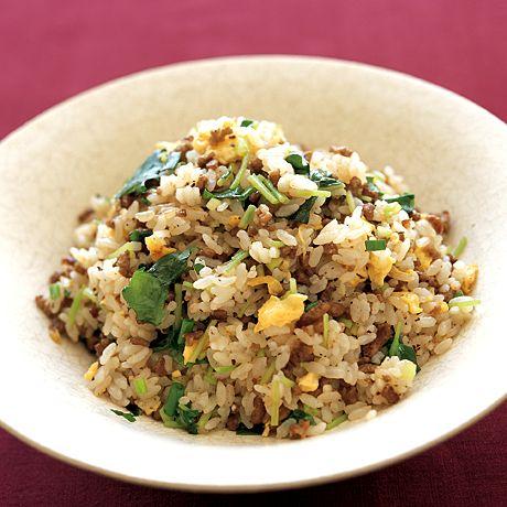黒酢チャーハン   外処佳絵さんのチャーハンの料理レシピ   プロの簡単料理レシピはレタスクラブニュース