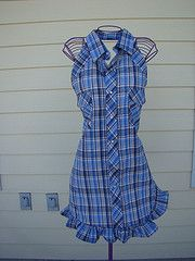 Apron made by Sherri Reindl from a pin from Pinterest