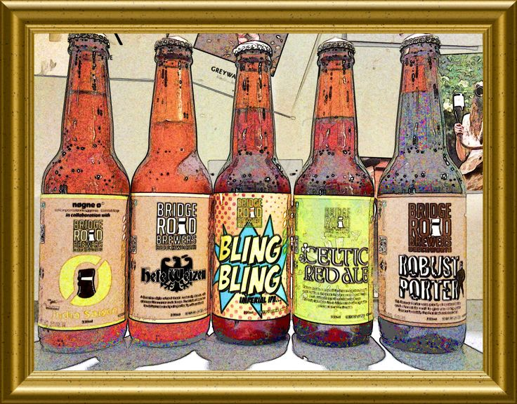 Bridge Road Tasting Saturday 30th India Saison Hefeweizen Bling Bling Imperial IPA Celtic Red Ale Robust Porter