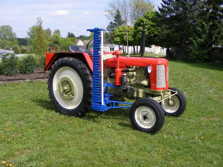 Zetor 25 K s boční kosou :: Naše traktory