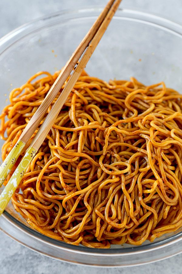 Aromatic Sour Egg Noodles Recipe Easy Chinese Recipes Food