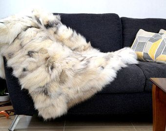 Real fur blanket!