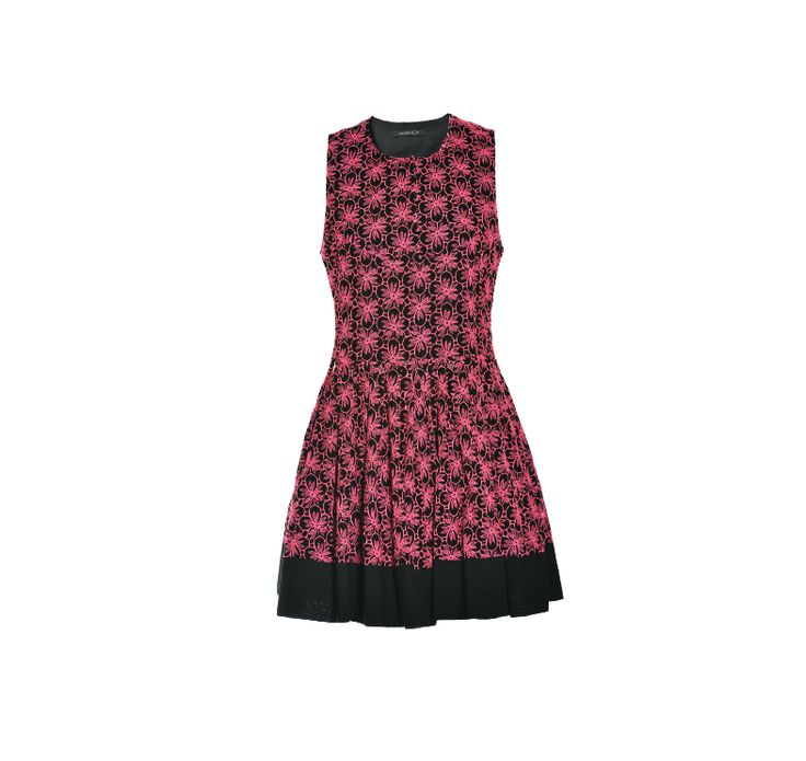NaughtyDog SS15 mini dress decorated with Sangallo lace