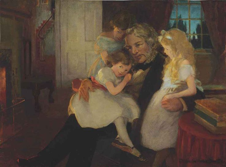Jessie Willcox Smith (1863-1935) | The Children's Hour | 20th Century, Paintings | Christie's