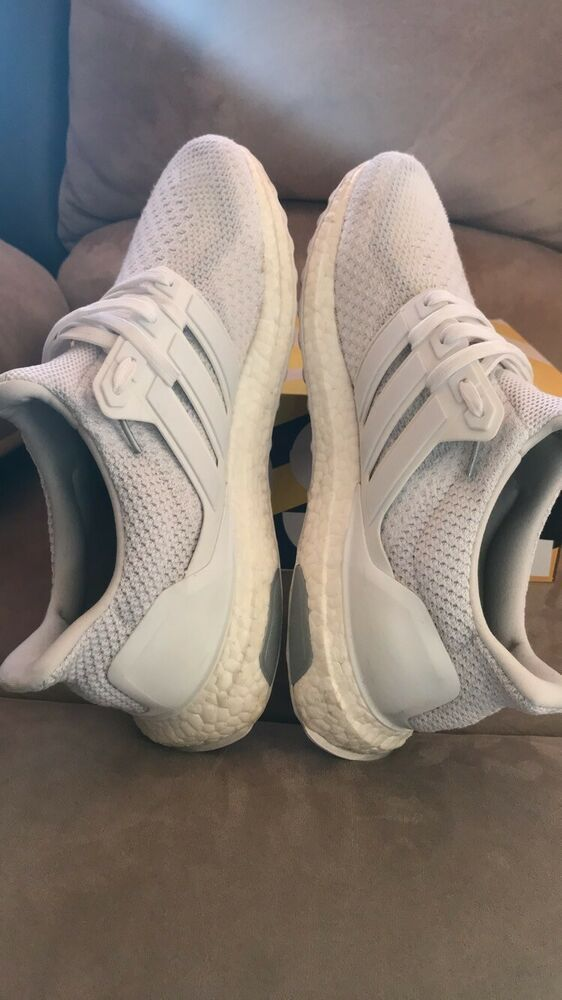 537fce121 Adidas Ultra Boost 2.0 Triple White Size 9.5  fashion  clothing  shoes   accessories  mensshoes  athleticshoes (ebay link)
