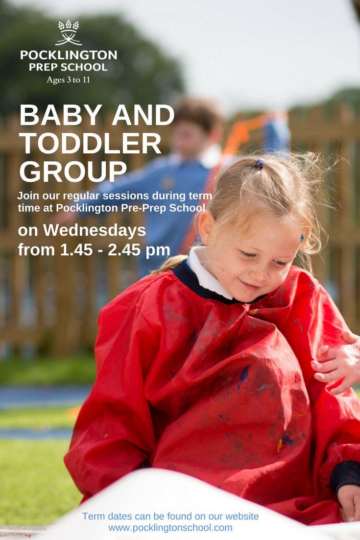 Free baby and toddler group at Pocklington Pre-Prep.