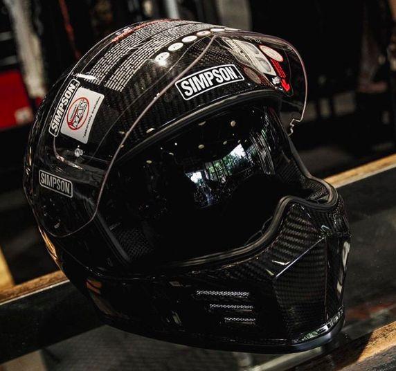 Simpson Ghost Bandit Carbon Fiber Helmet 2