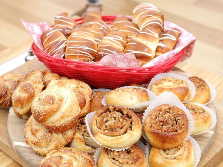 Bradleys tre sorters sötebröd | Recept från Köket.se
