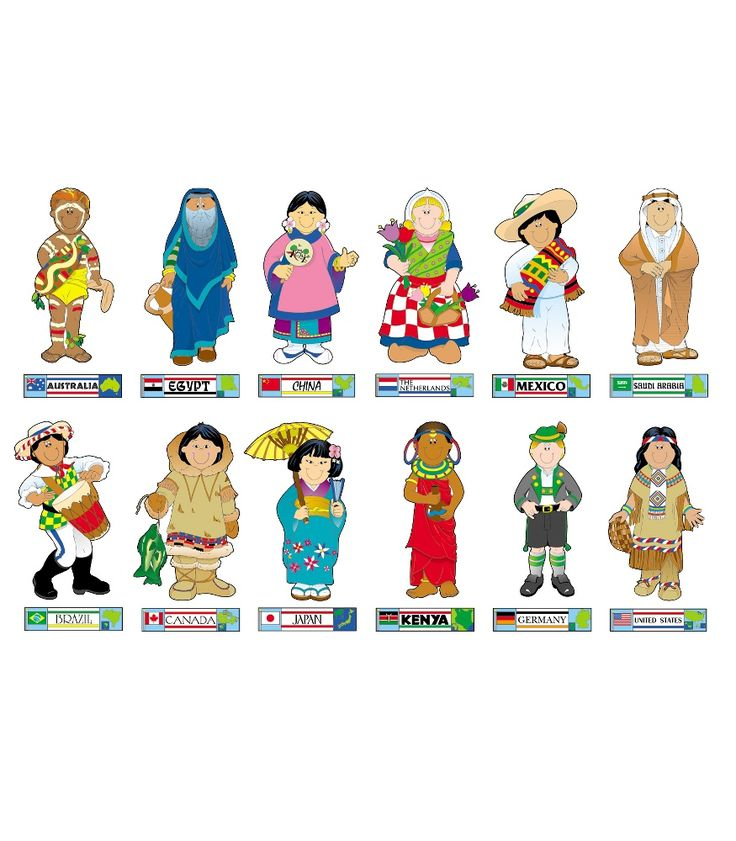 This Fun Culture Themed Bulletin Board Set Includes 12