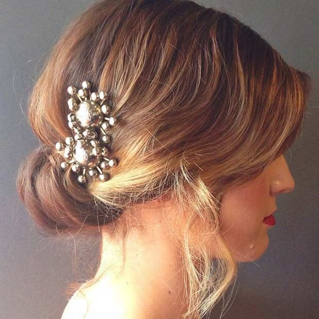 1629 best wedding hairstyles images on pinterest hairstyles 31 wedding hairstyles for short to mid length hair pmusecretfo Gallery