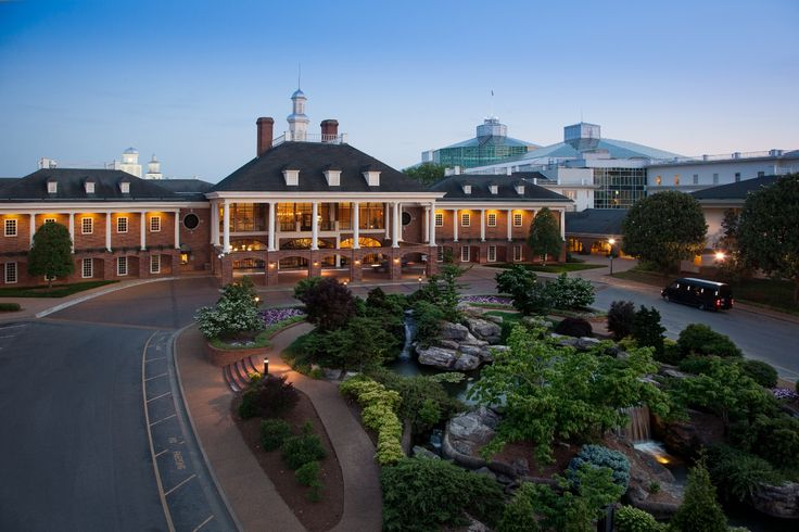 Gaylord Opryland Hotel Nashville Tennessee. I used to work in here and at the theme park