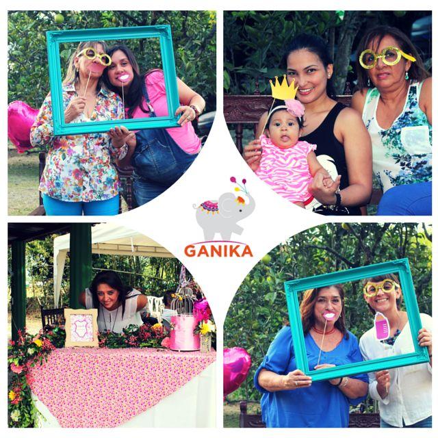 Baby Shower temática Jardín para Antonia. Diseño personalizado.