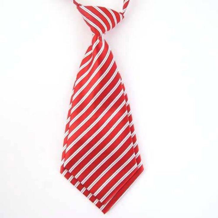 Галстук красный с белым короткий - купить в Киеве и Украине по недорогой цене, интернет-магазин